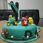 אנגרי בירדס עוגה
