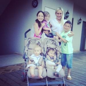 חופשה עם חמישה ילדים כפר גלעדי