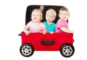 חופשה עם שלושה ילדים