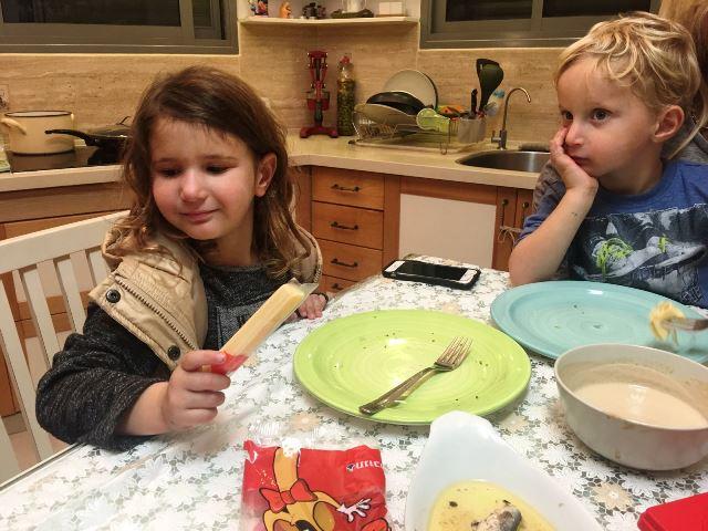 אצבעות עמק..כי הילדים אוהבים..ויש בזה המון סידן!