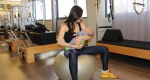 בייבילאטיס – פילאטיס מכשירים לנשים לאחר לידה ביחד עם הבייבי – באוקסיג'ן פילאטיס