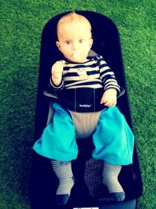 ניסיתן את הטרמפולינה לתינוק של BABYBJÖRN?