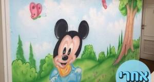 ציור קיר לילדים